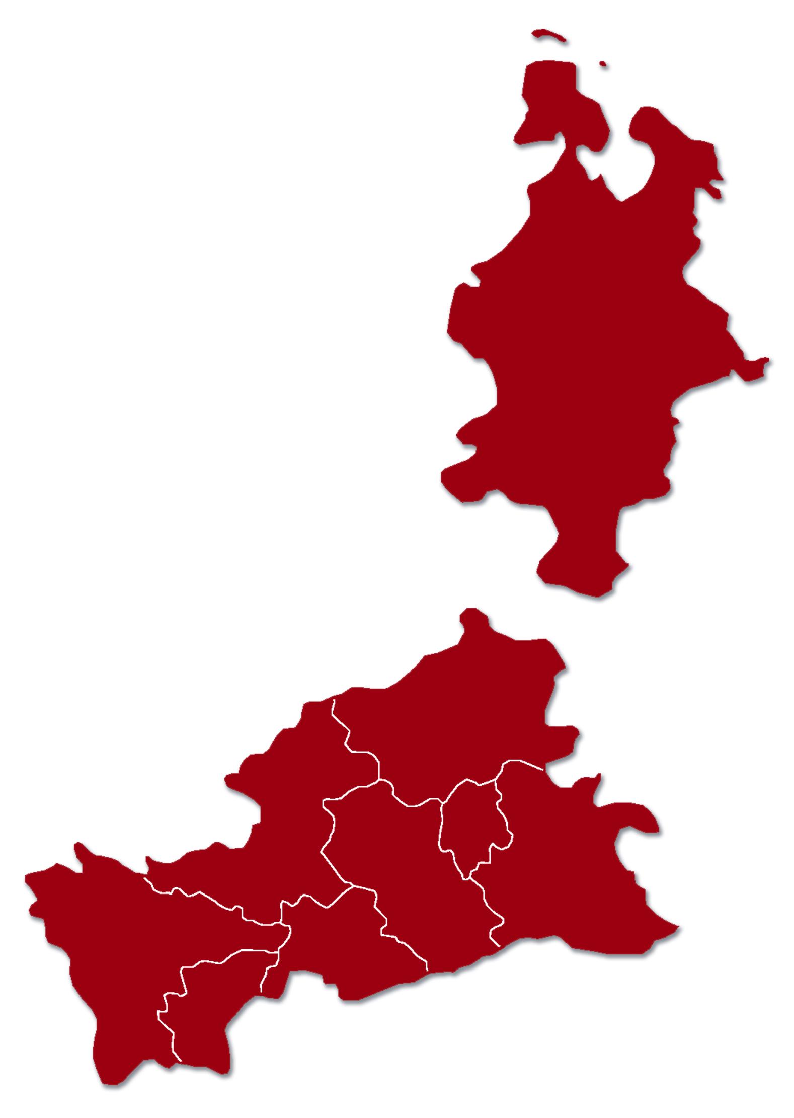 Bistumskarte